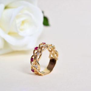 Biżuteria Libellen - pierścionek zaręczynowy Nieskończonej Miłości