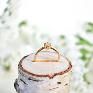 Bizuteria Libellen - pierścionek zaręczynowy Nest