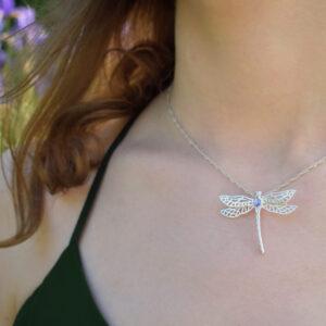 Wisior ważka Libelle Biżuteria Libellen